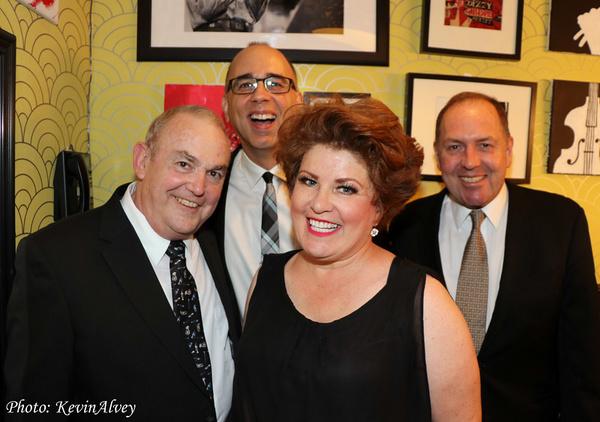 Michael Rice, Aaron Russell, Klea Blackhurst, Ray Kilday Photo