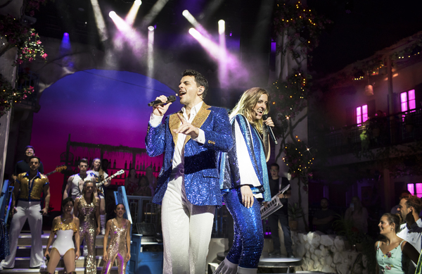 Photo Flash: MAMMA MIA! THE PARTY Begins Performances Tonight; Check Out All New Production Photos!