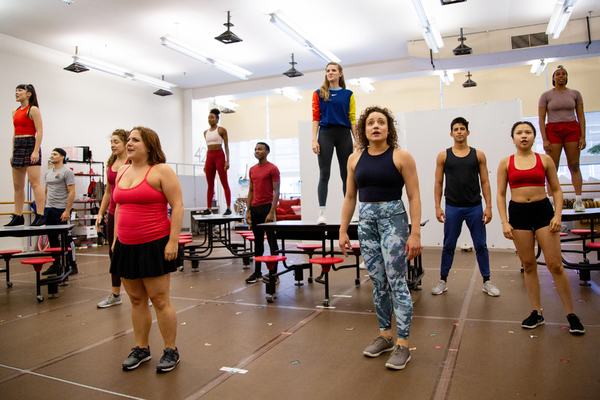 Photo Coverage: Go Inside Rehearsals with MEAN GIRLS on Tour