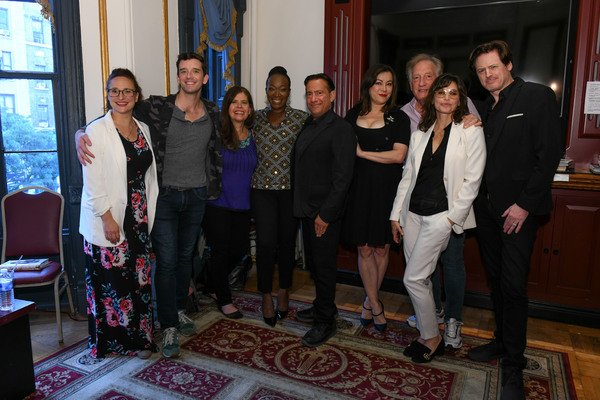 Tracee Chimo, Michael Urie, Dayle Reyfel, Joy Reid, Eugene Pack, Jennifer Tilly, Alan Photo