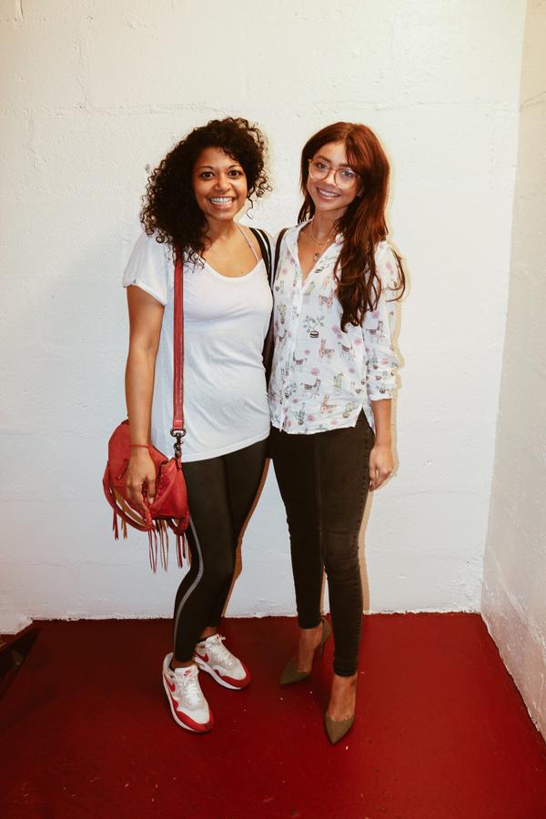 Rebecca Naomi Jones and Sarah Hyland Photo