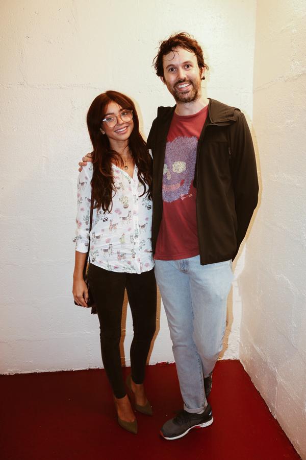Sarah Hyland and James Davis Photo