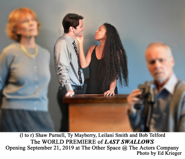 Photo Flash: First Look at LAST SWALLOWS at The Other Space @ The Actors Company