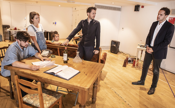 Photo Flash: Inside Rehearsal For Rose Theatre Kingston's VALUED FRIENDS