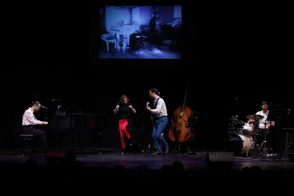 Jack Lipson, Valerie Perri, Benny Lipson, Theo Seidmon Photo
