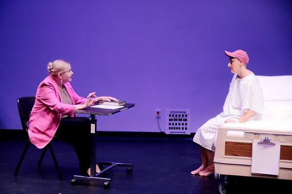Susan Shofner with Pamela Vogel