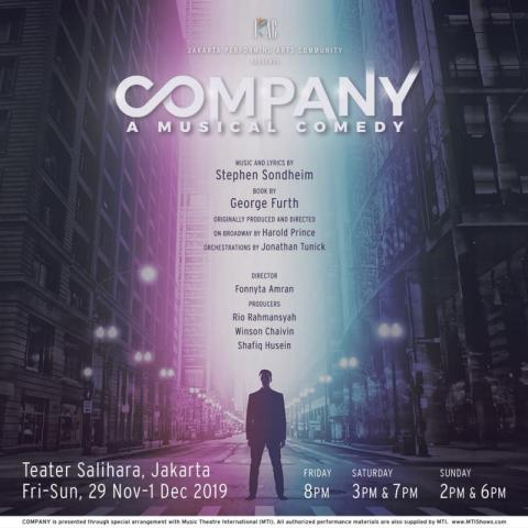 BWW Previews: JAKARTA PERFORMING ARTS COMMUNITY to Bring Sondheim's COMPANY to Jakarta This Year