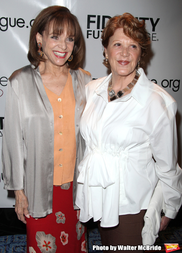 Valerie Harper & Linda Lavin pictured at the 76th Annual Drama League Awards Ceremony Photo