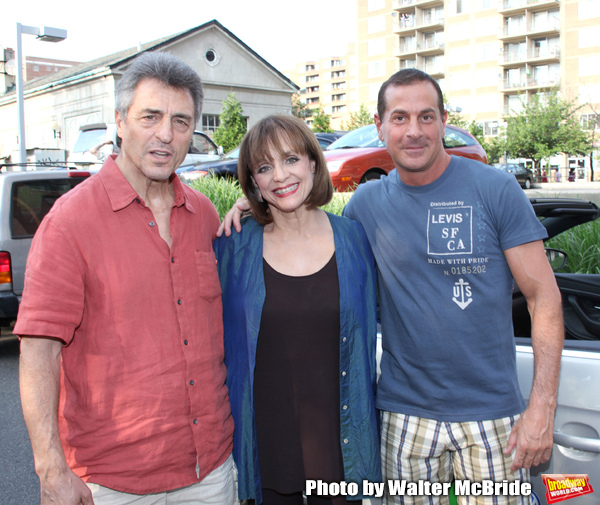 Valerie Harper - Grand Marshall with husband Tony Cacciotti & Matthew Lombardo (Playw Photo