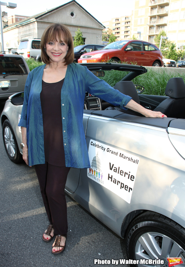 Valerie Harper - Grand Marshall attending the 2009 Capital Pride Parade. Washington,  Photo