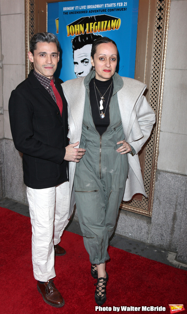 Ruben Toledo & Isabel Toledo.attending the Broadway Opening Night Performance of  'Gh Photo
