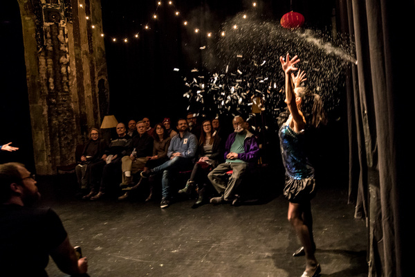 Photo Flash: Greenwich Theatre Reconfigured For Immersive DISAPPEARING ACT