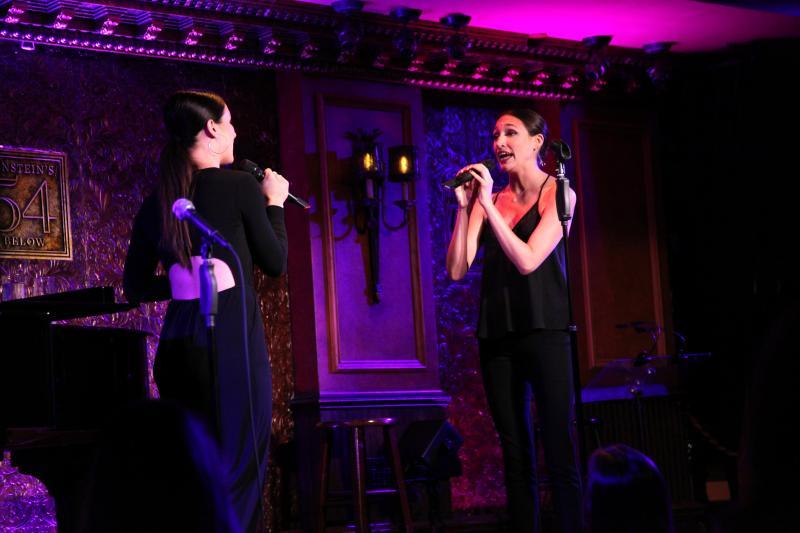 Tess Jonas and Sarah Pothier