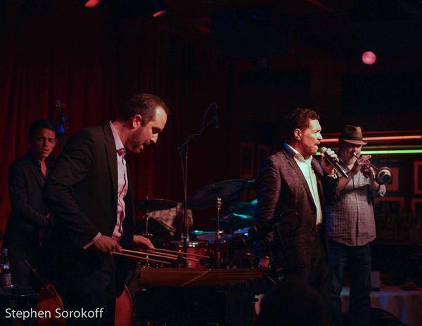 Paul Sikivio, Bass, John Davis, Drums, Kenny Rampton, trumpet, Christian Tamburr, Clint Holmes