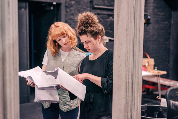 Photo Flash: Inside Rehearsal For PRIDE AND PREJUDICE* (*SORT OF) at Bristol Old Vic