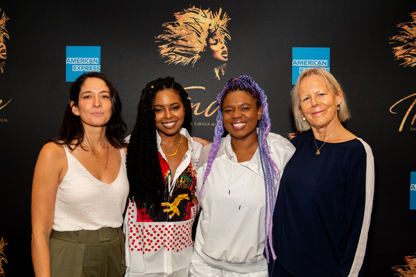 Tali Pelman, Adrienne Warren, Katori Hall, and Phyllida Lloyd