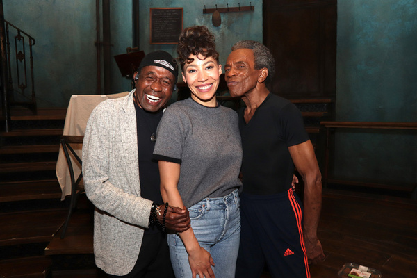 Ben Vereen, Afra Hines, Andre De Shields Photo