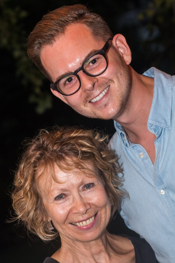 Chrissie Cartwright ( Ass. Choreographer/ Director to Gillian Lynne and Trevor Nunn) withVBW Casting Director Dominik Penner