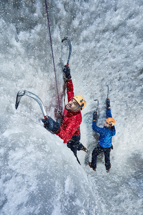 Photo Flash: Actors Prep for TOUCHING THE VOID