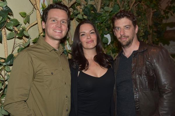 Jonathan Groff, Tammy Blanchard and Christian Borle