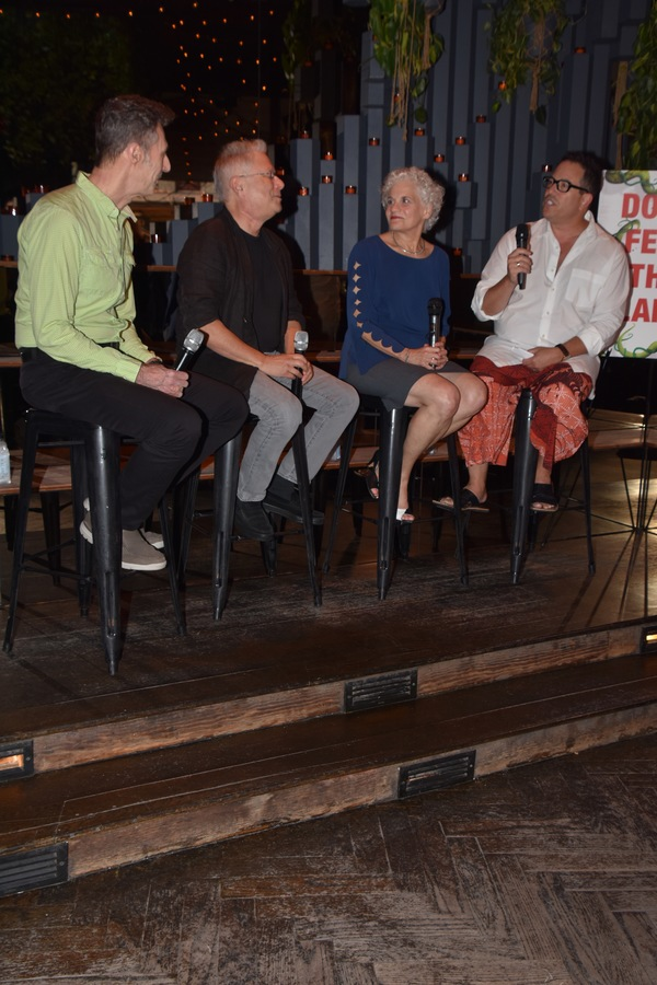 Bill Lauch, Alan Menken, Sarah Ashman Gillespie and Michael Mayer Photo