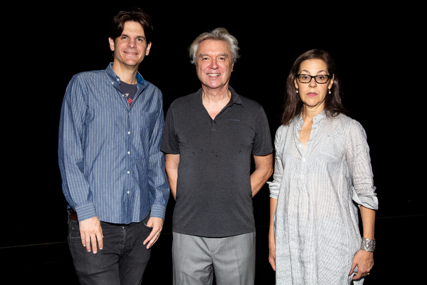 Alex Timbers, David Byrne, Annie-B Parson Photo