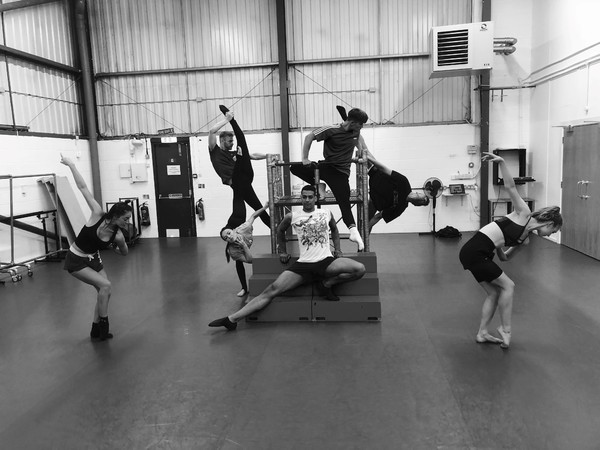Photo Flash: In Rehearsal With The Z Bo Jackson Company