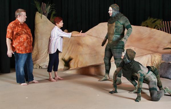 Photo Flash: Santa Paula Theater Center Presents Edward Albee's SEASCAPE