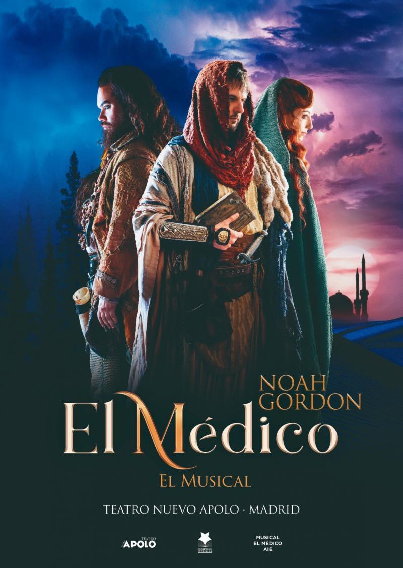 EL MEDICO EL MUSICAL ganador absoluto de los Premios del Público BroadwayWorld Spain 2019