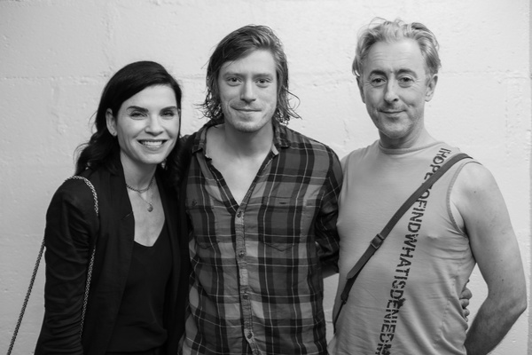Juliana Margulies , Patrick Vaill, Alan Cumming Photo