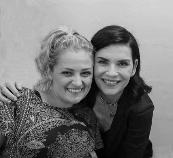 Photo Flash: Alan Cumming and Julianna Margulies Stop By OKLAHOMA!