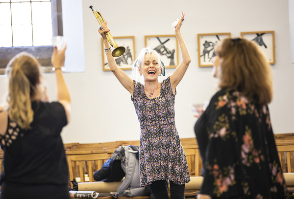 Photo Flash: Inside Rehearsal For the First UK Professional Revival of MAME at Hope Mill Theatre