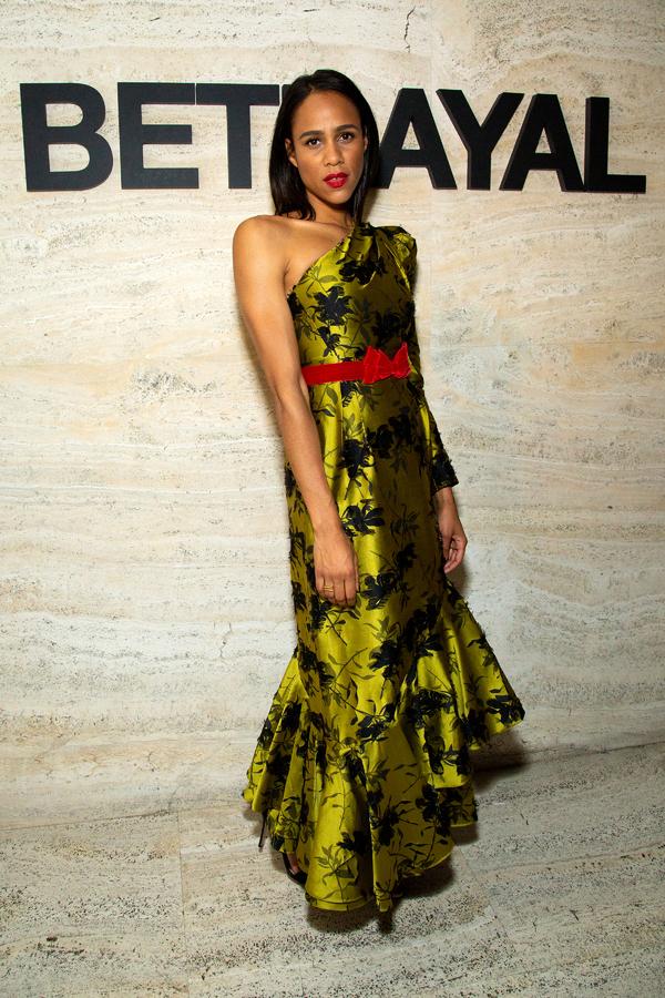 Photo Coverage: BETRAYAL Cast Celebrates Opening Night