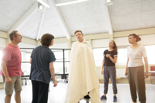 Photo Flash: Inside Rehearsal For REASONS TO STAY ALIVE