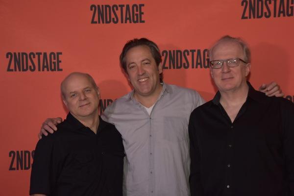 Dexter Bullard, Ian Barford and Tracy Letts Photo