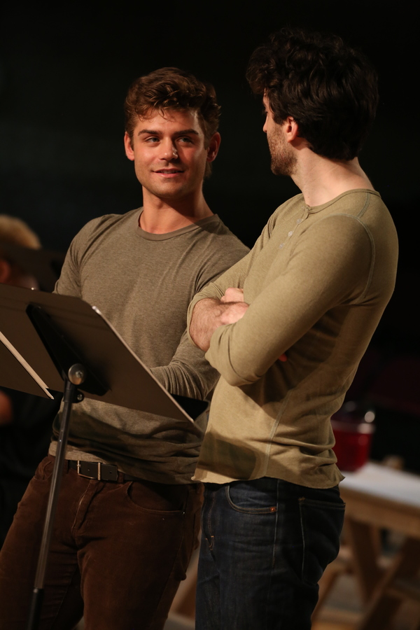Garrett Clayton and Charlie Thurston