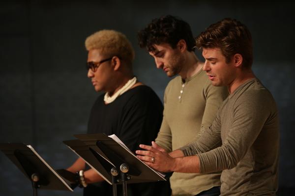 Roger Q. Mason, Charlie Thurston, and Garrett Clayton  Photo
