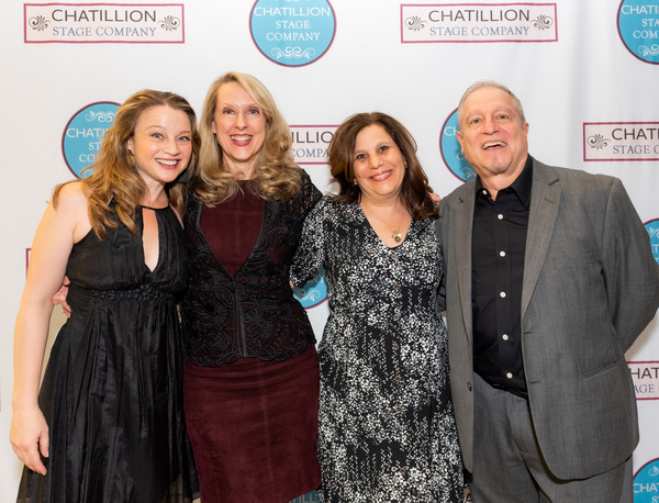 Margot White, Debra Whitfield, Stephanie Klapper, & Robert Laconi  (Photo by Russ Row Photo