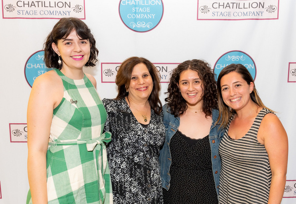 Lacey Davies, Stephanie Klapper, Anna Torchia, & Leah Shapiro The Klapper Casting Tea Photo