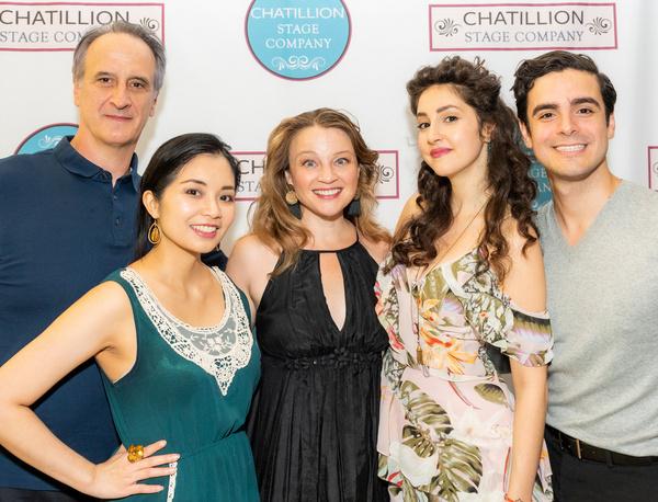 Mark Lotito, Leanne Cabrera, Margot White, Lauriel Friedman, & Ryan Avalos  (Photo by Photo
