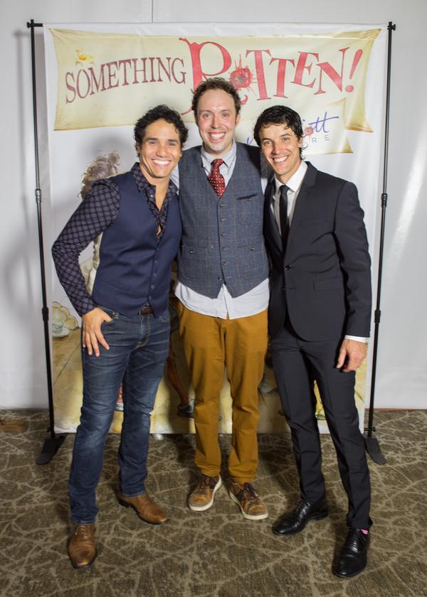 Adam Jacobs, Alex Goodrich, KJ Hippensteel Photo