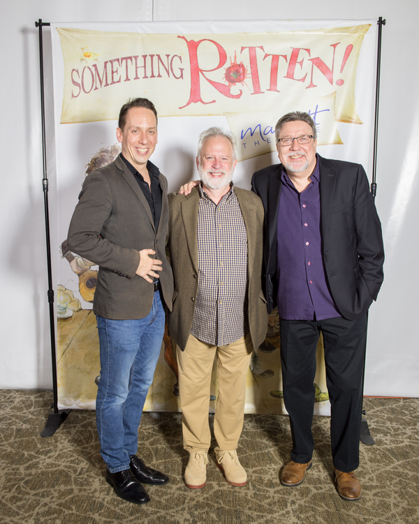 Photo Flash: Inside Opening Night of SOMETHING ROTTEN! at the Marriott Theatre