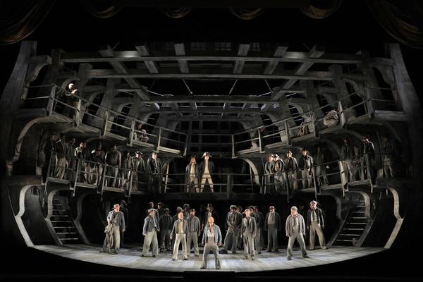 Photo Flash: First Look at San Francisco Opera's BILLY BUDD