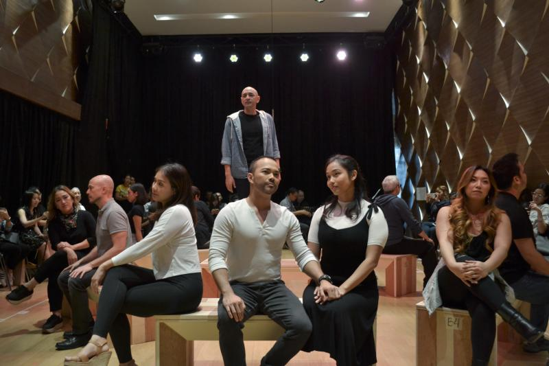 Photo Coverage: The Cast of COMPANY Meets the Press; Show Opens Fri., Sept. 13