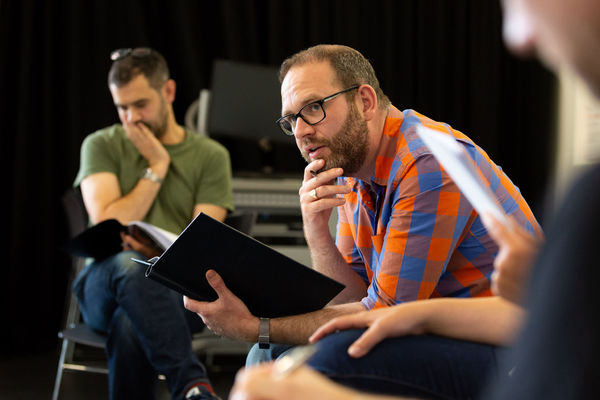 Photo Flash: Inside Rehearsal For UNDER THREE MOONS at The Lowry, Salford