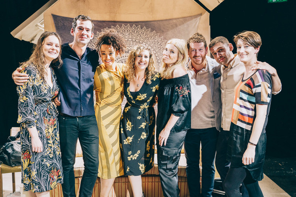 Photo Flash: Inside Press Night For HOW LOVE IS SPELT at Southwark Playhouse