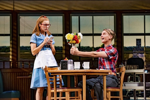 Photo Flash: Get a Look at Joe Sugg as Ogie in All New WAITRESS Production Photos
