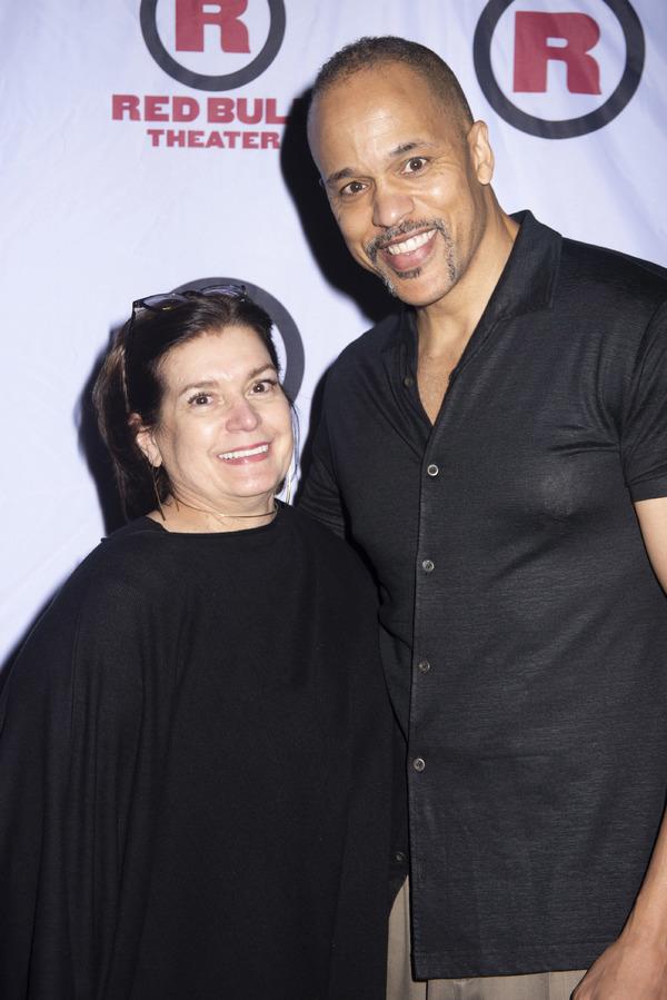 Evangeline Morphos and Keith Hamilton Cobb Photo