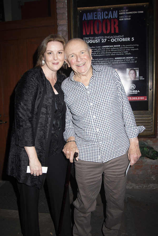 Kim Weild and Terrence McNally Photo