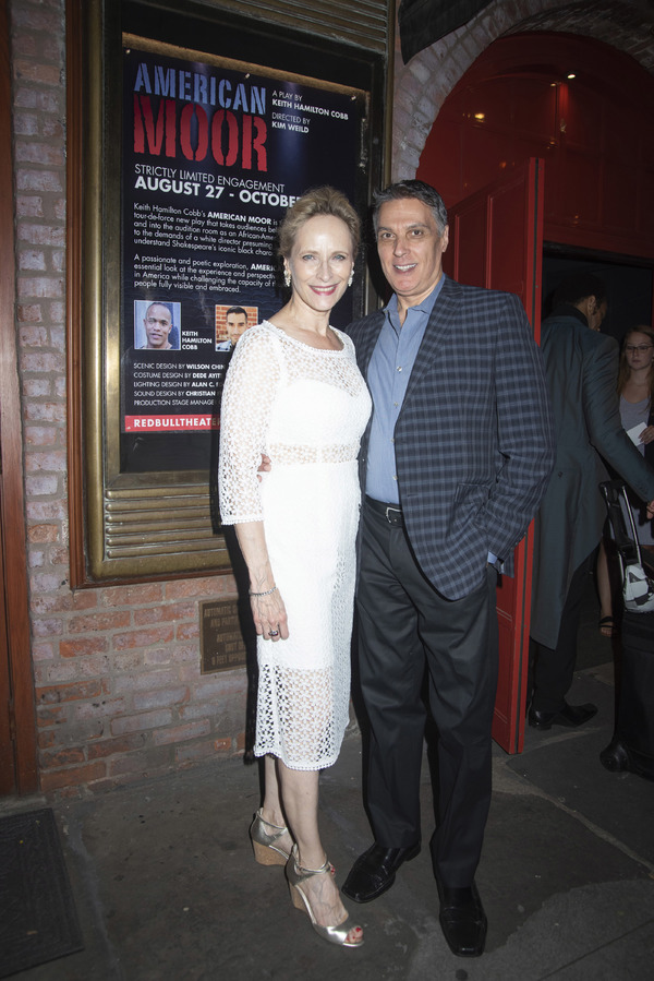 Laila Robins and Robert Cuccioli  Photo